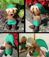 Deku Link plushie by Eyes5