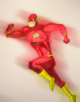 The Flash by ThatTMNTchick