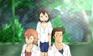The Girl Who Leapt Through Time Gang by Smudgeandfrank