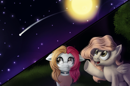Shooting Star by AilaTF