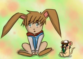 TWD: The Hare and The Hamster by digorylarynith