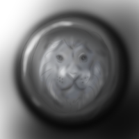 Lion Medal by danceswithzerg