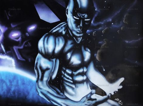 Silver Surfer by JeuroArt