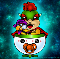 Baby Bowser by wiggler94