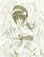 Toph try 2- Toph RAWKS by Kajina