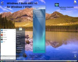 Windows 7 Build 6801 VS by Misaki2009