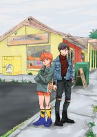 Coolest Kids On The Block by Orenji--kun