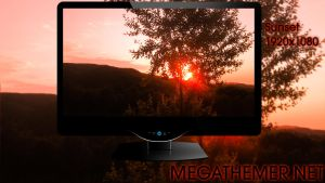 Sunset nature wallpapers by poweredbyostx by poweredbyostx