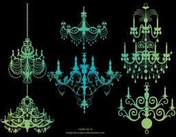 chandelier by hotpinkscorpion