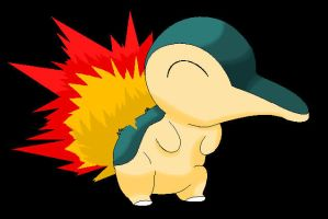 Cyndaquil by SnugglePuffs