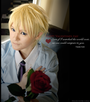 Tamaki Suoh on Valentines day - OHSHC by TessaCrownster