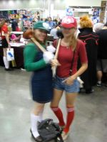 Super Mario Sisters by AngstyGuy