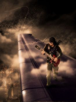 let the music flow in the sky by aremanvin