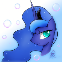 Luna Portrait by Swaphilo