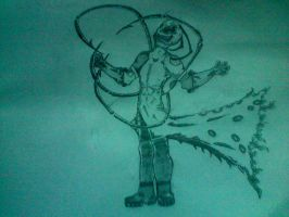 Invader Zim my style by Wolf-Angel-whitewing