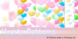 Hearts Pattern Pack III by Coby17
