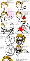 Rage Comic:: WARNING: NOT FOR WEAK STOMACHED by SweetlyAddicted