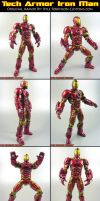 Custom Tech Armor Iron Man by KyleRobinsonCustoms