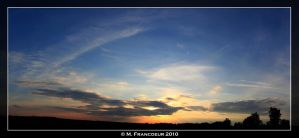 June 13th Sunset Panorama by sicmentale