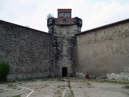 Eastern State Penitentiary 70 by Dracoart-Stock