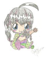 Shun and Julie's Baby colored by funnyforbunnies