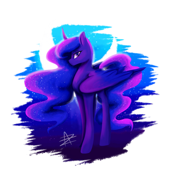 Princess Luna by Myralilth
