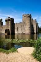 Bodiam and Lily Pads 2 by wintersmagicstock