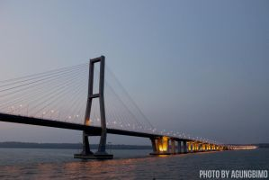 Suramadu Bridge by agungbimo