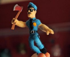 Axe Cop Felt (without lemon) by thedanimator
