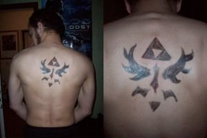 Ovi - Tribal Hylian 'tattoo' by Sarinilli