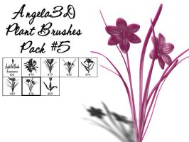 Angela3D Plant Brushes Set 5 by angela3d