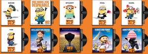 Despicable Me 2 Folder Icons Pack by prestigee