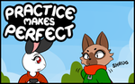 Practice makes Perfect #22 by freelancemanga