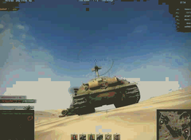 Jumping over the IS7 by Brazilian-Soldier