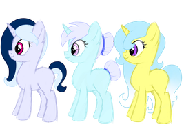 Pony OC Adoptables - Unicorns by ShyShyOctavia