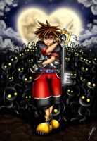 KH: Sora vs Heartless - Final Version by Menanie605