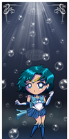 Chibi Super Sailor Mercury by JennaHickman