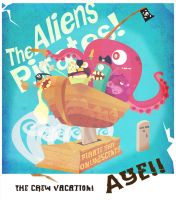 Aliens Pirates by schults