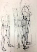 Drawing II: Classroom Studies: 4 by Chipo-H0P3