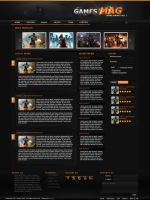 Games Mag - Blog Design by Judazzz