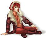 Furry Winter Outerwear Contest Catwalk by JadeWaters