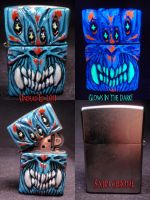 It Came From Beyond Zippo 1 by Undead-Art