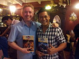 Dinner with Mark Millar by Iantoy