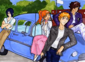 Bleach - AE - complete print by lila-may-qt