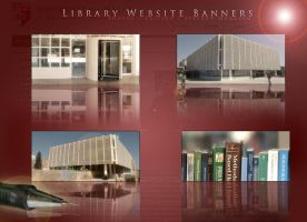Banners for Library Front-Page by mangion