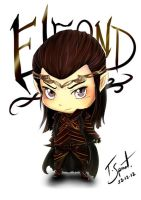Chibi Lord of Rivendell by talespirit