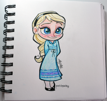 Young Elsa by ALBY-LePetiteDreamer