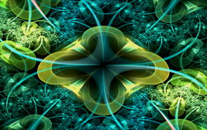 bluegreen abstract pattern by Andrea1981G