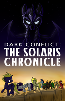 Dark Conflict: The Solaris Chronicle Cover by SixSamMaster