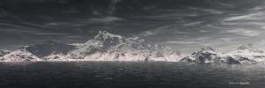 Arctic Shore by MandelCr8tor
